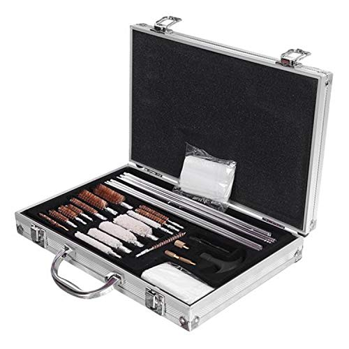 SHUTAO  2 128pcs Outdoor Shotguns Barrel Cleaning Kit Silver