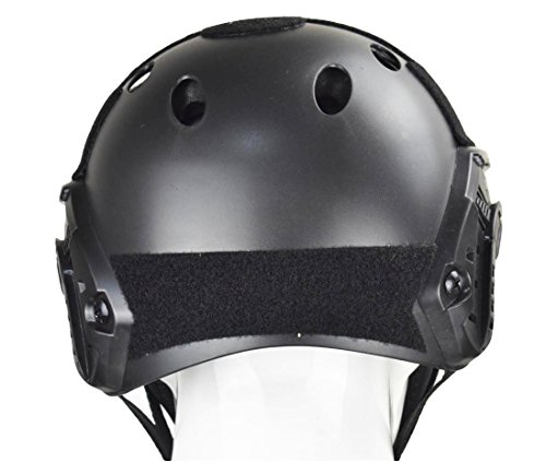 JFFCESTORE Airsoft Helmet 5 JFFCESTORE PJ Type Tactical Multifunctional Fast Helmet and Foldable Adjustable Half Mesh Mask