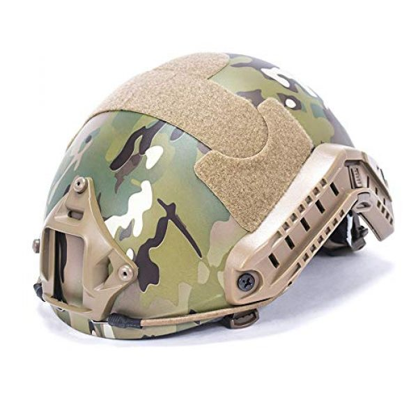 MH Style Helmet with Side Rails and NVG Mount