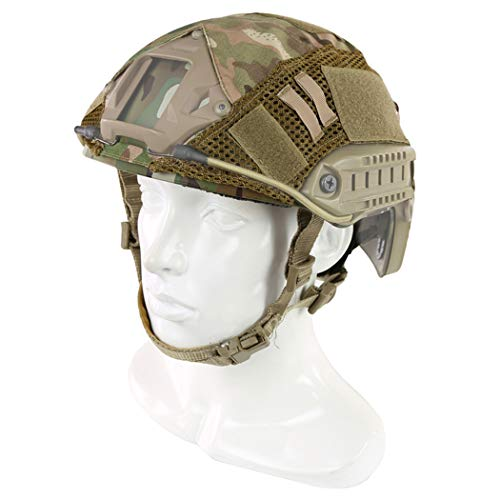 Aoutacc Airsoft Helmet 3 Aoutacc Tactical Multicam Helmet Cover
