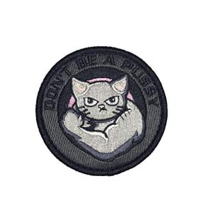 F-Bomb F Morale Gear Airsoft Morale Patch 1 Dont Be A Pussy - Embroidered Morale Patch