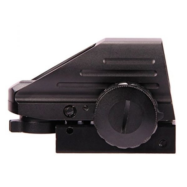 UUQ Airsoft Gun Sight 2 UUQ Tactical Holographic Red Green Reflex Scope Sight 4 Reticles
