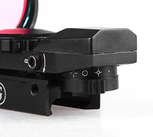 TPO Airsoft Gun Sight 2 TPO Sniper RD22F 1X22X33 Red Green Dot Sight