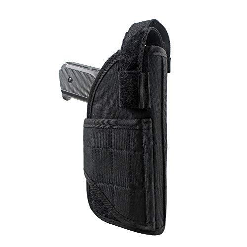 LIVIQILY  2 LIVIQILY Tactical Vertical Belt Mount Handgun Holster Belt Universal MOLLE Pistol Holster Right Hand Gun Holder