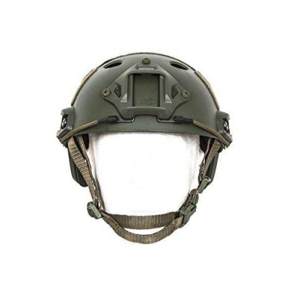 Bravo! Airsoft Helmet 2 Bravo! PJ Helmet Version 3 in (OD Green)