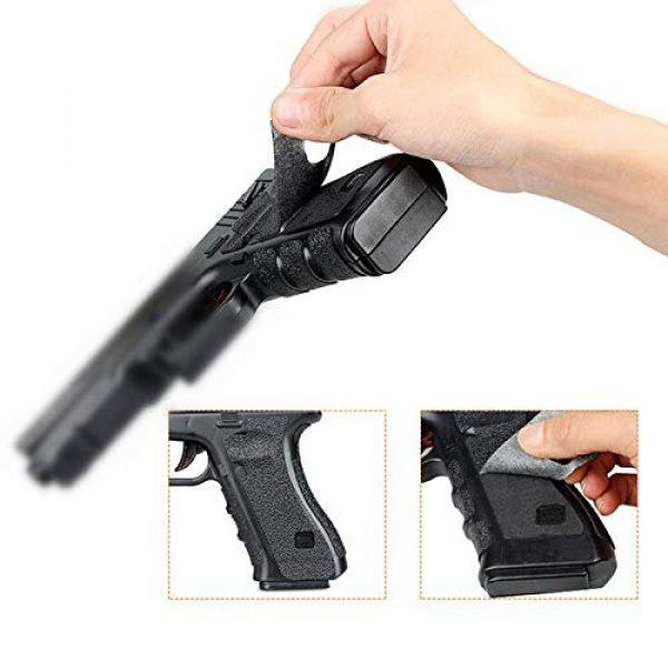 FIRECLUB  3 FIRECLUB 2 Set Non-Slip Rubber Texture Grip Wrap Tape Glove for Glock 17 19 20 21 22 25 26 27 32 33 38 43 Holster 9mm Pistol Accessories