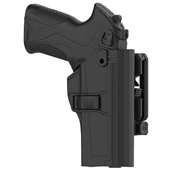 Tactical Outside Waistband Holster with 360°Adjustable Cant