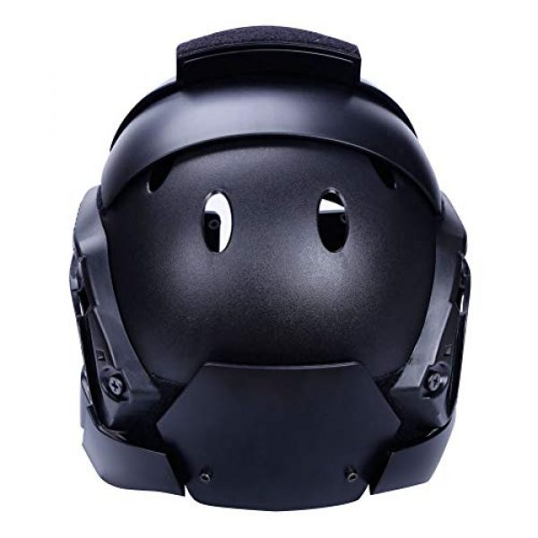 Unknown Airsoft Helmet 4 Tactical Military Airsoft Paintball PC Lens Tactical Helmet