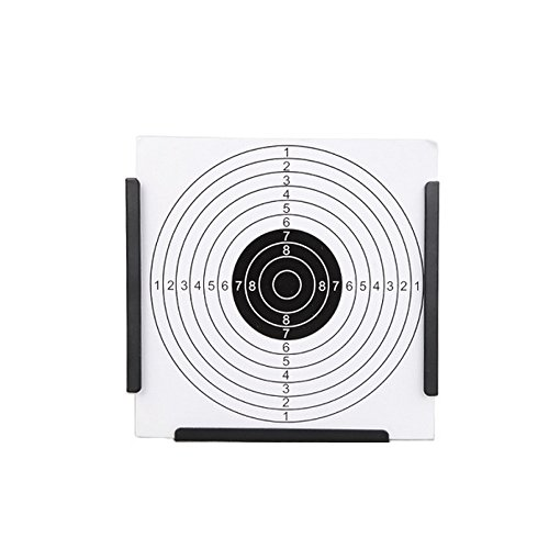 Guyuyii Airsoft Target 3 Guyuyii 14cm Steel Target Holder + 100 Targets air Rifle Pelet Trap Shooting Airsoft