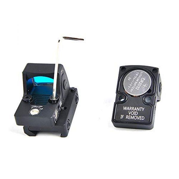 Jiaboyu Airsoft Gun Sight 2 Jiaboyu Adjustable LED Red Dot Sight