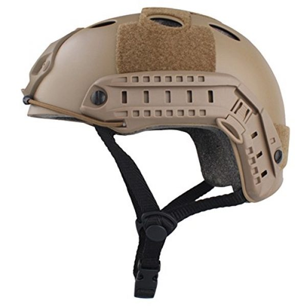 EMERSONGEAR Airsoft Helmet 2 EMERSONGEAR PJ Type Fast Helmet Tactical Protective Helmet for Airsoft Paintball Hunting Cycling Motorcycle
