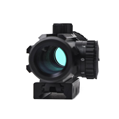Beileshi Airsoft Gun Sight 7 Beileshi 1X/2X Red Illuminated Tactical Dot Sight