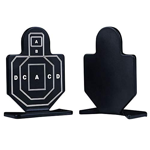 Aoutacc Airsoft Target 2 Aoutacc 4 Pcs Steel Brave Warrior Targets