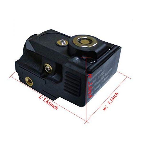 TTAS Airsoft Gun Sight 3 Tactical Green Laser Sight