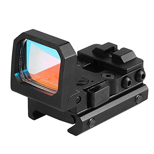 ARWIN Airsoft Gun Sight 6 Flip Red Dot Sight RMR Holographic Reflex Sight for Shooting Hunting for Glock or 20mm Picatinny (Black)