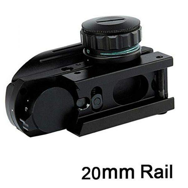 HHY Airsoft Gun Sight 6 HHY Holographic Sight Tactical Red/Green Dot Combo 4 Reticles Reflex Scope Airsoft Gun Sights HD103