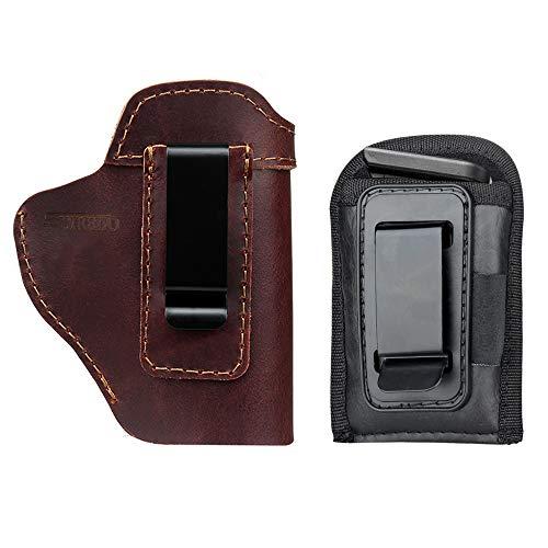 Hand-Made Full Grain Leather Gun Holster for Women and Men