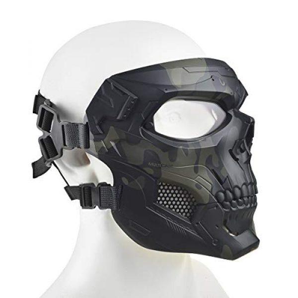 ABALAGU Airsoft Mask 2 Camouflage Skeleton Mask