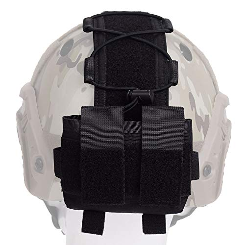 EMERSONGEAR Airsoft Helmet 2 EMERSONGEAR Molle Tactical Helmet Pouch Removable Gear Pouch Tactical Fast Helmet Accessories Utility Pouch Helmet Cover Counterweight Bag