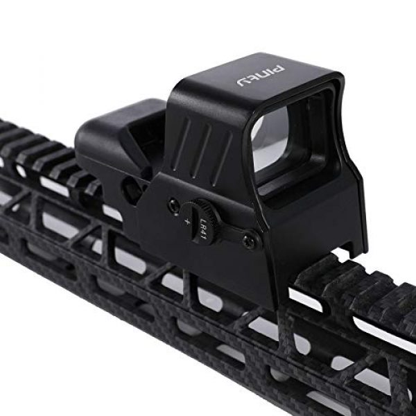 Pinty Airsoft Gun Sight 3 Pinty 1x22x33 Reflex Sight Red Dot Sight with 4 Reticles