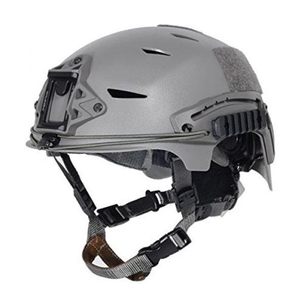 FMA Airsoft Helmet 1 FMA Airsoft Bump Type Helmet FG Green ABS MARSOC USSF OPS CORE