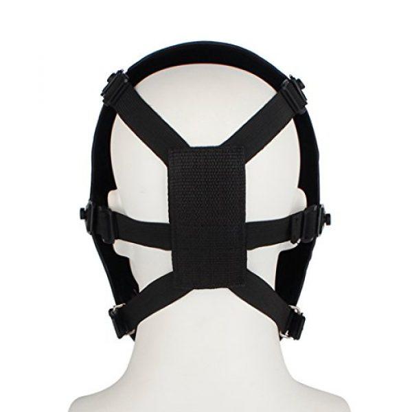 NINAT Airsoft Mask 2 NINAT Airsoft Skull Mask Full Face Tactical Masks Eye Protection for CS Survival Games Airsoft Shooting Halloween Cosplay Movie Scary Masks Bones Black Silvergrey Wildfire Captain