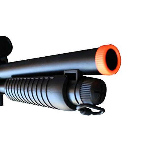 Double Eagle  4 Double Eagle M47A1 M47 UTGA Full Size Quality Heavyweight Tactical Airsoft Spring Powered Pump Action Shotgun Rifle Powerful 300 FPS