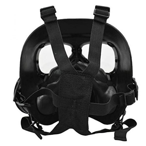 JFFCESTORE Airsoft Mask 3 JFFCESTORE Airsoft Tactical Protective Mask M88 Helmet Full Face Eye Protection Skull CS Mask Adjustable Strap One Size fits All Airsoft BB Gun CS Game Party
