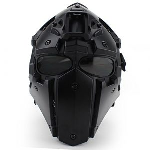 Unknown Airsoft Helmet 1 Tactical Airsoft Full Face Protection