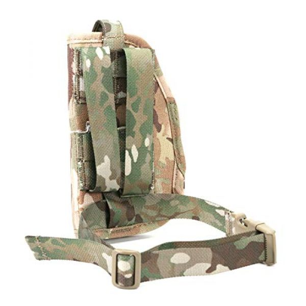 LIVIQILY  3 LIVIQILY Camouflage Tactical Molle Pistol Thigh Gun Holster Leg Holster Adjustable Pistol Carrier Airsoft Hunting Case Vertical Accessories