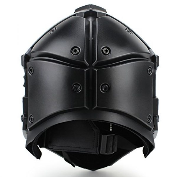 LEJUNJIE Airsoft Helmet 3 LEJUNJIE Tactical Airsoft Helmet Full Face Protection Mask Goggles Hunting Paintball Shooting Military Motorcycle Cosplay Movie Prop