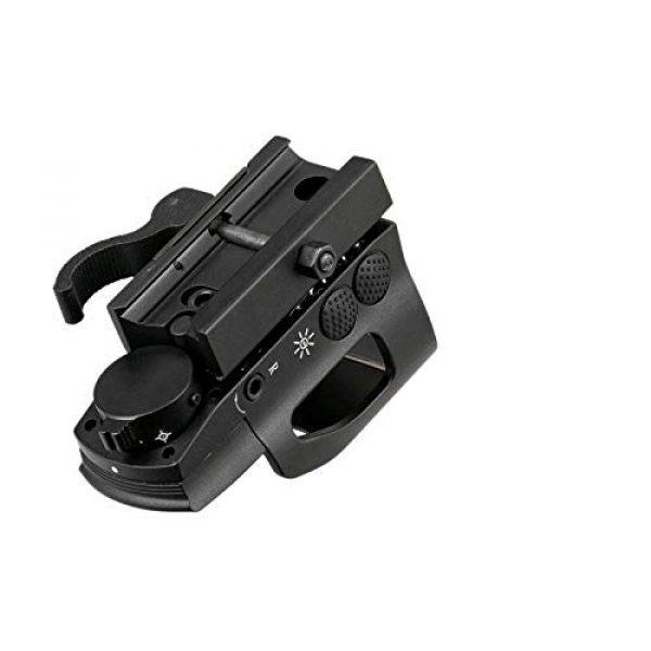 GOTICAL Airsoft Gun Sight 5 GOTICAL 1x22x33 Reflex Sight Multi Dot Sight (Red/Green) 4 Reticles with Quick Release 21mm P-i-c-a-t-i-n-n-y Weaver Mount