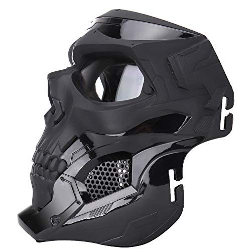 ATAIRSOFT Airsoft Mask 3 ATAIRSOFT Tactical Protective Adjustable Skull Full Face Mask for Airsoft Paintball Cosplay Costume Party Hockey