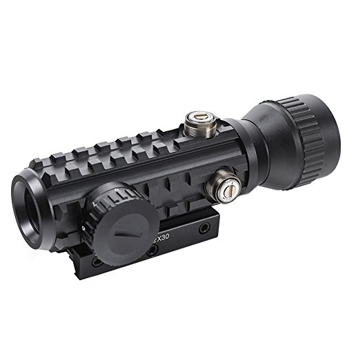 Beileshi Airsoft Gun Sight 5 Beileshi 1X/2X Red Illuminated Tactical Dot Sight