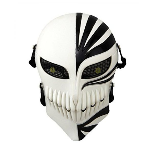 Lelly Q Airsoft Mask 1 Lelly Q Full Face Airsoft Mask