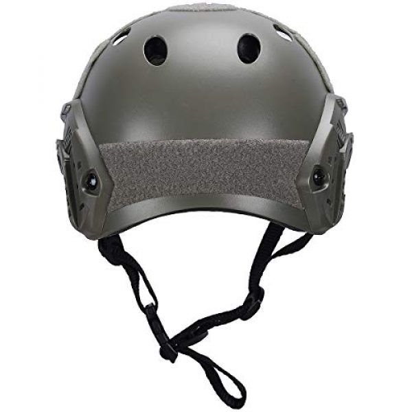 Fast PJ Type Bump Tactical Combat Protective Gear for Outdoor Activities with 12-in-1 Face Mask