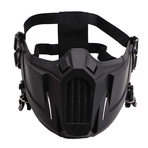 Fansport Airsoft Mask 1 Fansport Airsoft Mask Creative Protective Half Face Mask Outdoor Game Mask Costume Mask Outdoor Sports Masks
