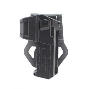 Higoo  1 Higoo Tatical Movable Pistol Holster for Colt 1911 with Flashlight or Laser Mount