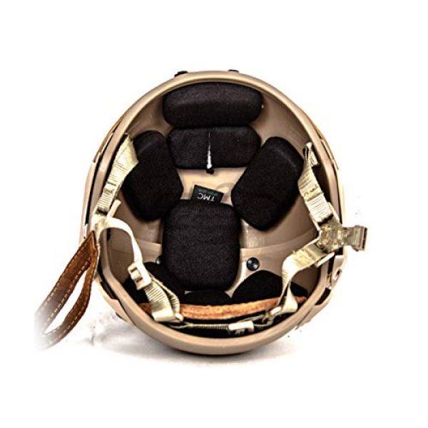 Lancer Tactical Airsoft Helmet 6 Lancer Tactical CA-761 CP AF Air Force Safety Airsoft Helmet (Tan)
