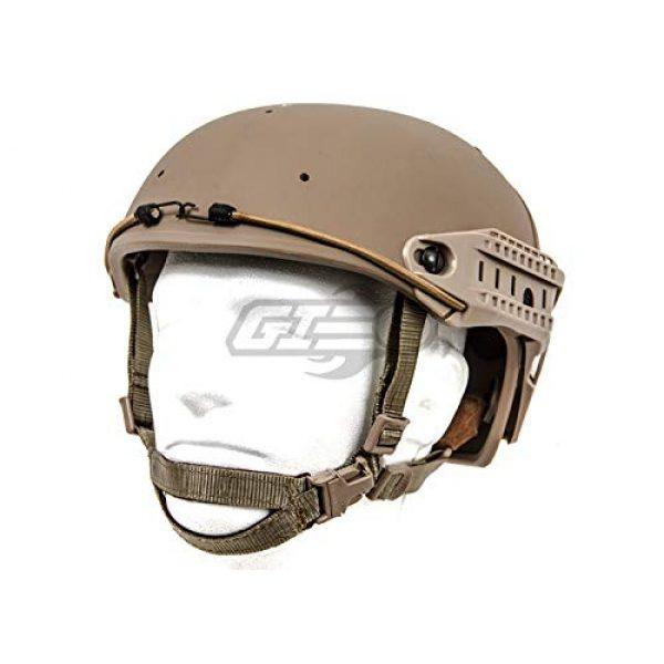 Lancer Tactical Airsoft Helmet 1 Lancer Tactical CA-761 CP AF Air Force Safety Airsoft Helmet (Tan)