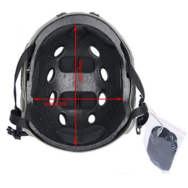 LOOGU Airsoft Helmet 2 LOOGU Airsoft Helmet