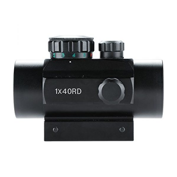 Pinty Airsoft Gun Sight 2 Pinty Tactical 1x30mm Reflex Red Green Dot Sight Riflescope with Free 20mm Mount Rails