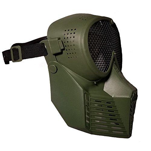 JustBBGuns Airsoft Mask 4 JustBBGuns Airsoft Pro Full Face Mask with Metal Mesh Eye Protection