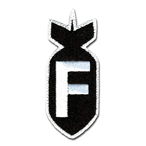 BASTION Airsoft Patch 1 BASTION Morale Patches (F Bomb
