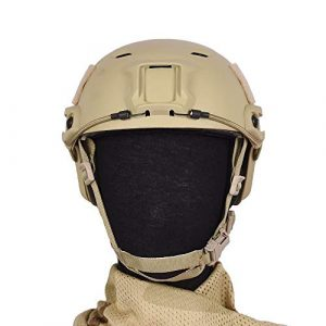 Tongcamo Airsoft Helmet 1 Tongcamo Fast BJ Paintball Airsoft Helmet for Training