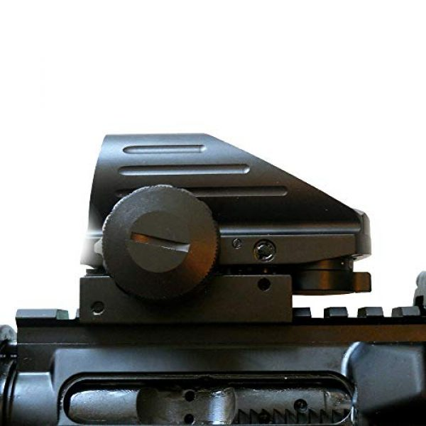 HHY Airsoft Gun Sight 3 HHY Holographic Sight Tactical Red/Green Dot Combo 4 Reticles Reflex Scope Airsoft Gun Sights HD103