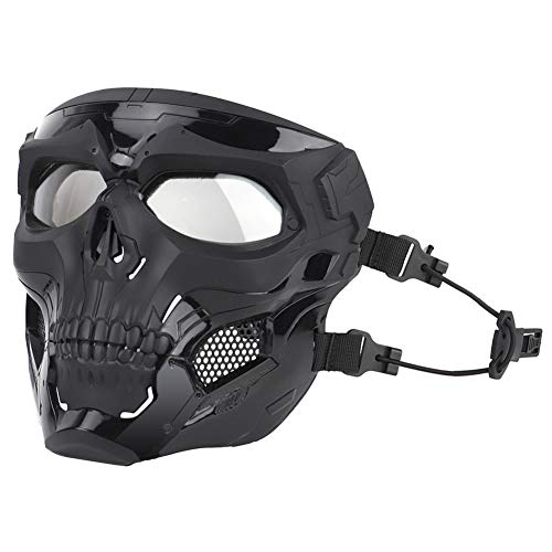 ATAIRSOFT Airsoft Mask 6 ATAIRSOFT Tactical Protective Adjustable Skull Full Face Mask for Airsoft Paintball Cosplay Costume Party Hockey