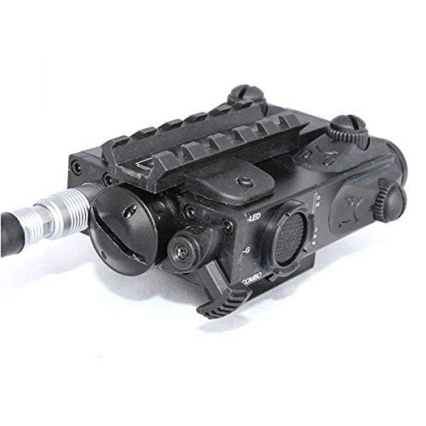 Sniper Airsoft Gun Sight 5 Sniper FL2000 Green Laser Sight LED Flashlight Combo