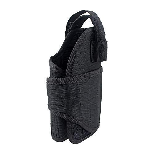 LIVIQILY  3 LIVIQILY Tactical Vertical Belt Mount Handgun Holster Belt Universal MOLLE Pistol Holster Right Hand Gun Holder
