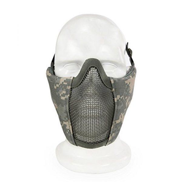 Aoutacc Airsoft Mask 4 Aoutacc Airsoft Mesh Mask
